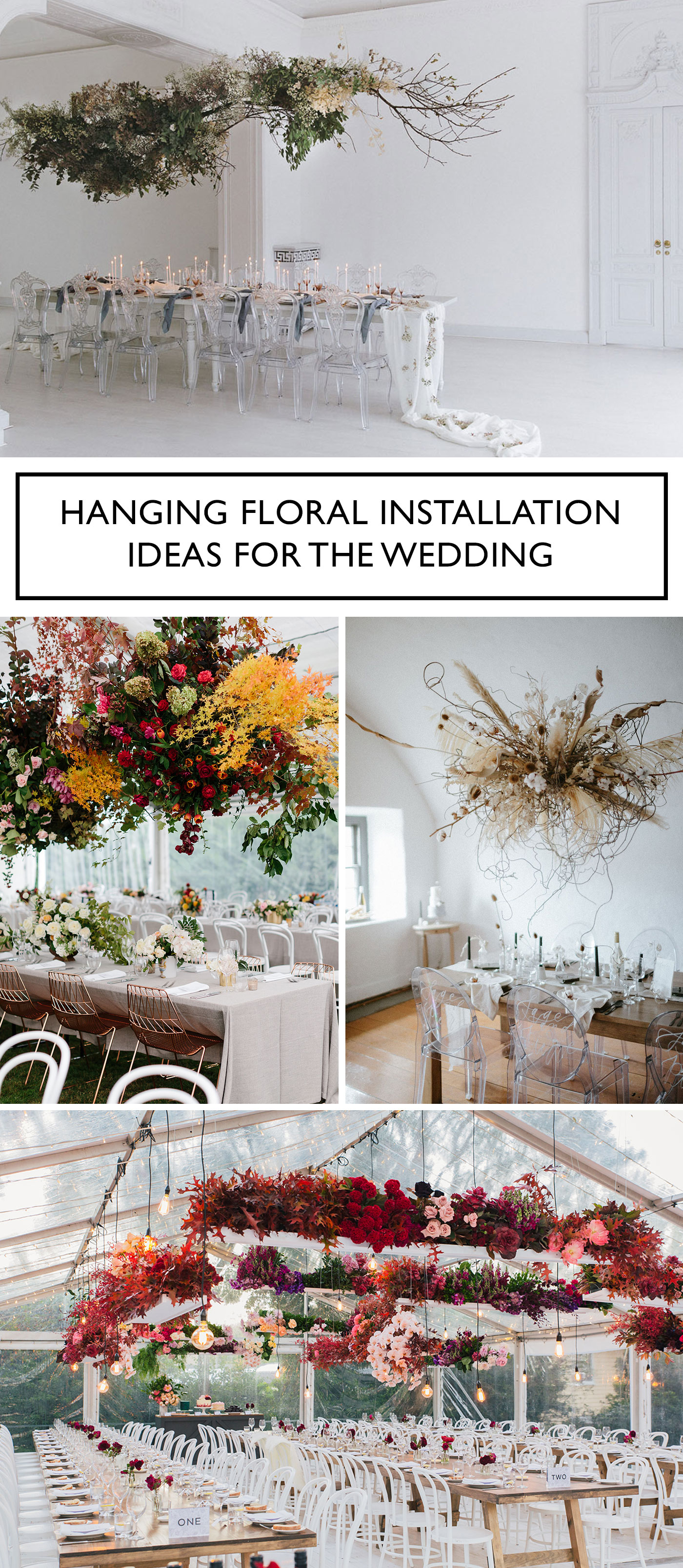 Hanging Floral Ideas