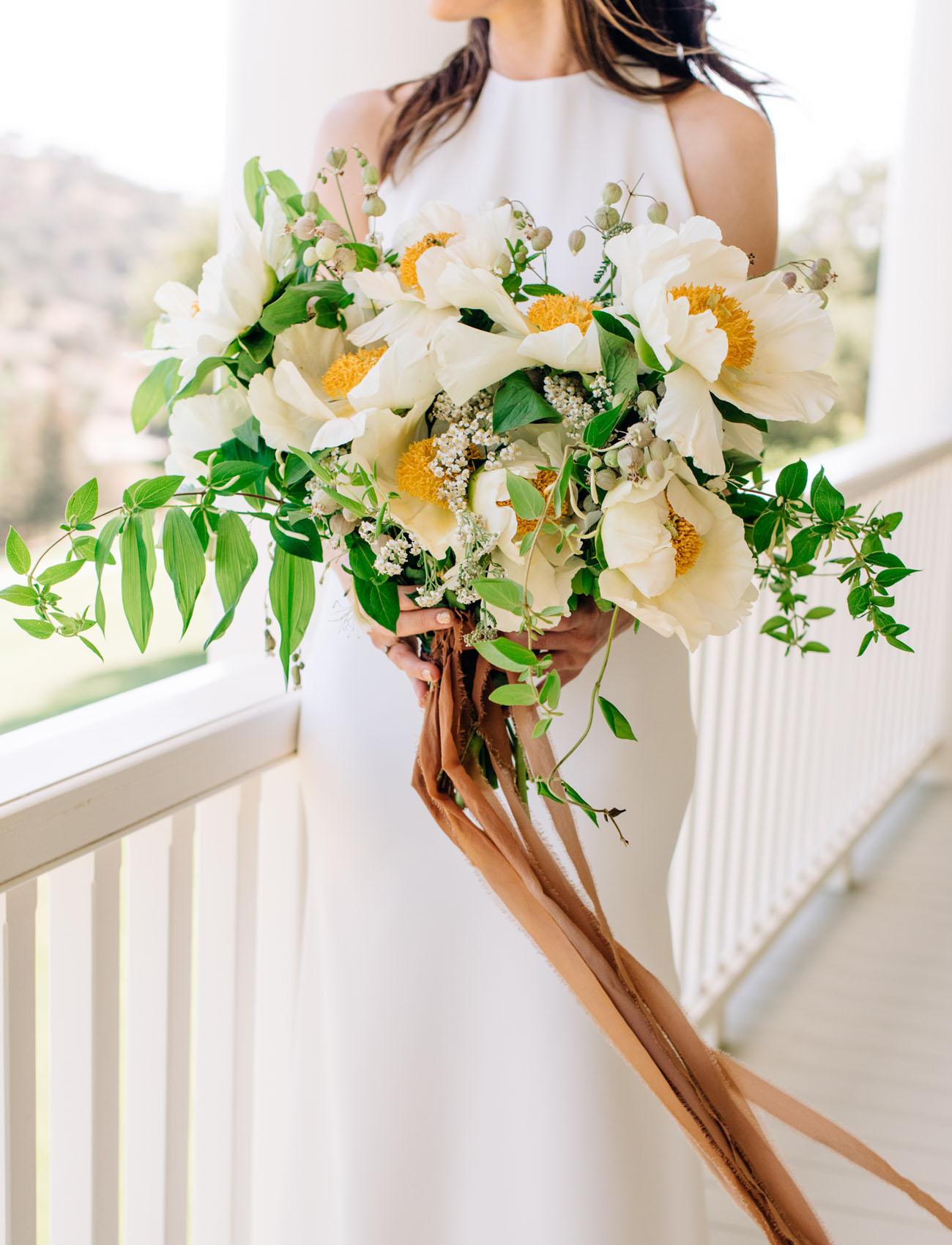 tree peony bouquet