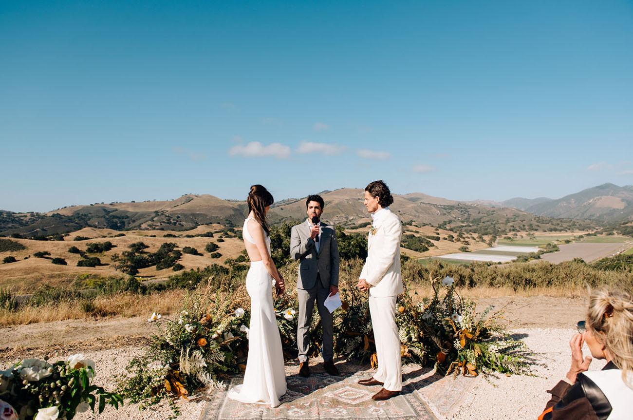 Music Festival Inspired Wedding