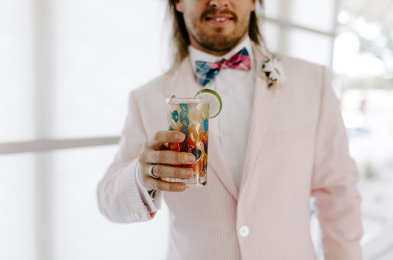 Coachella Inspired Wedding