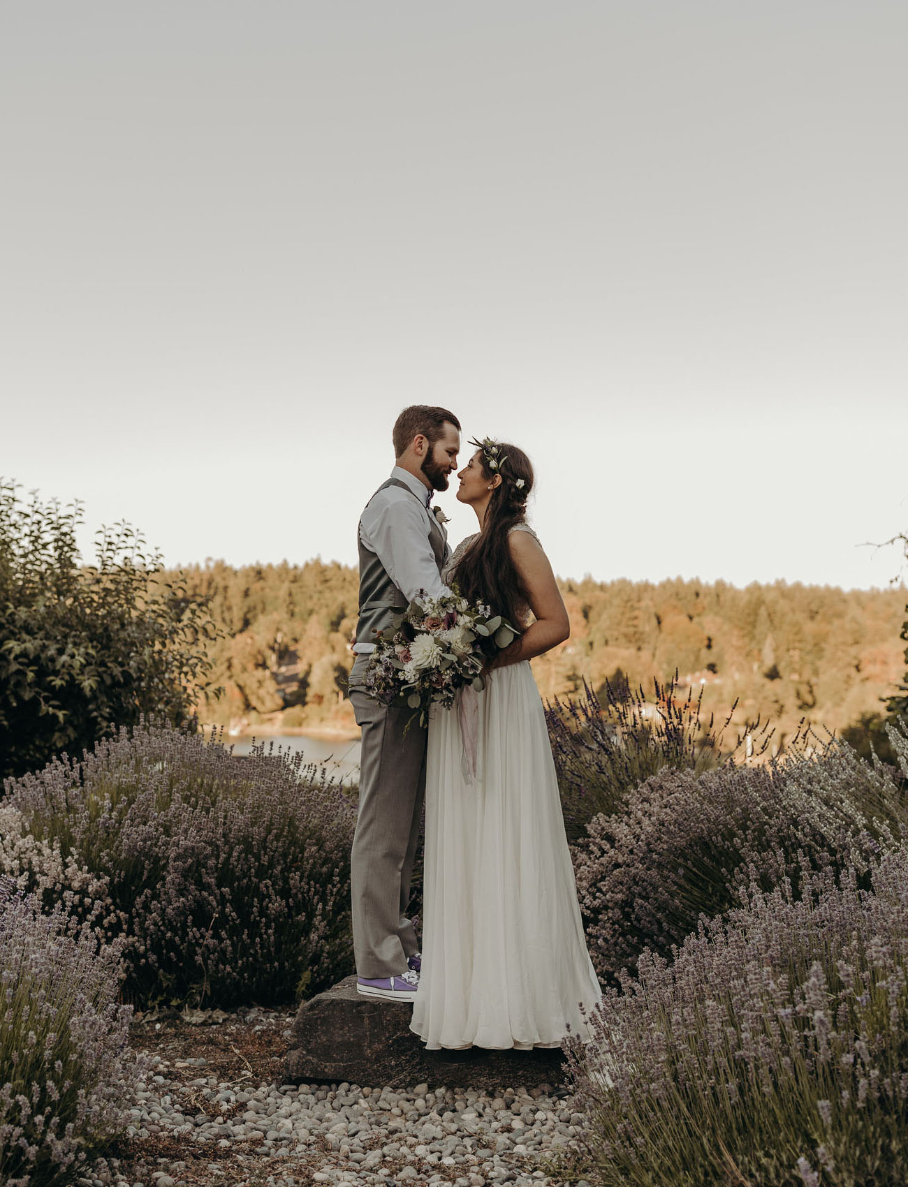 For the Love of Lavender: An Intimate Elopement on a Lavender Farm in Washington