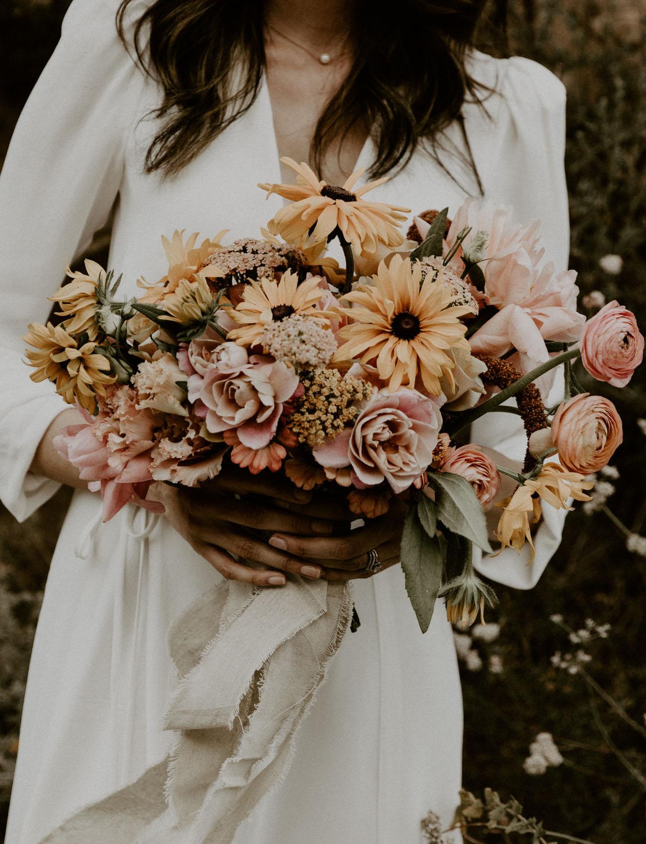 yellow daisy bouquet