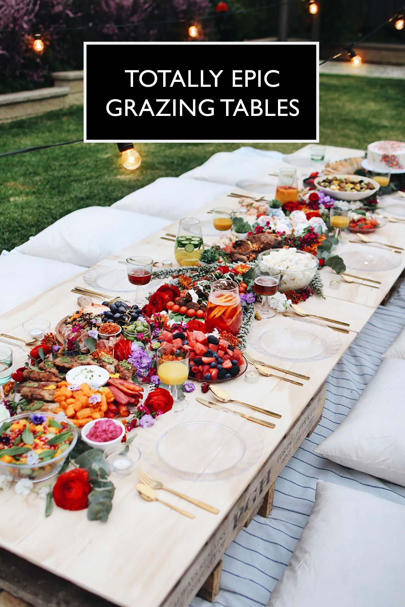 epic grazing tables