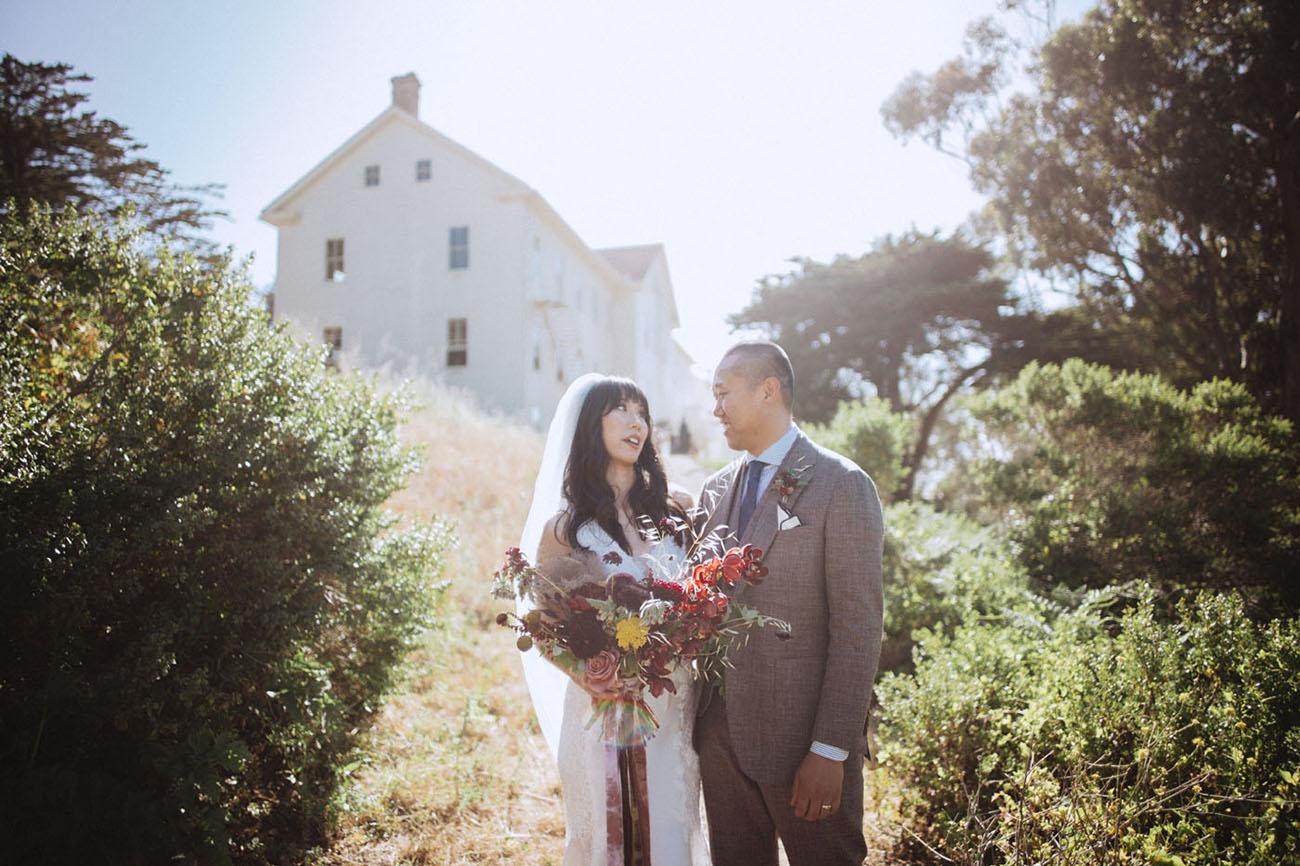 Vintage Sausalito Wedding