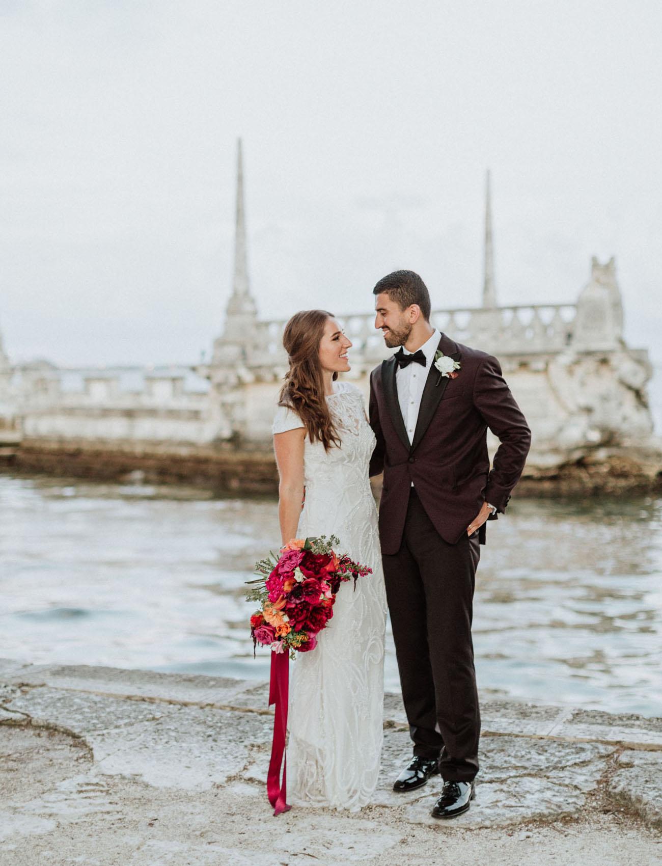 Tropical Miami Wedding