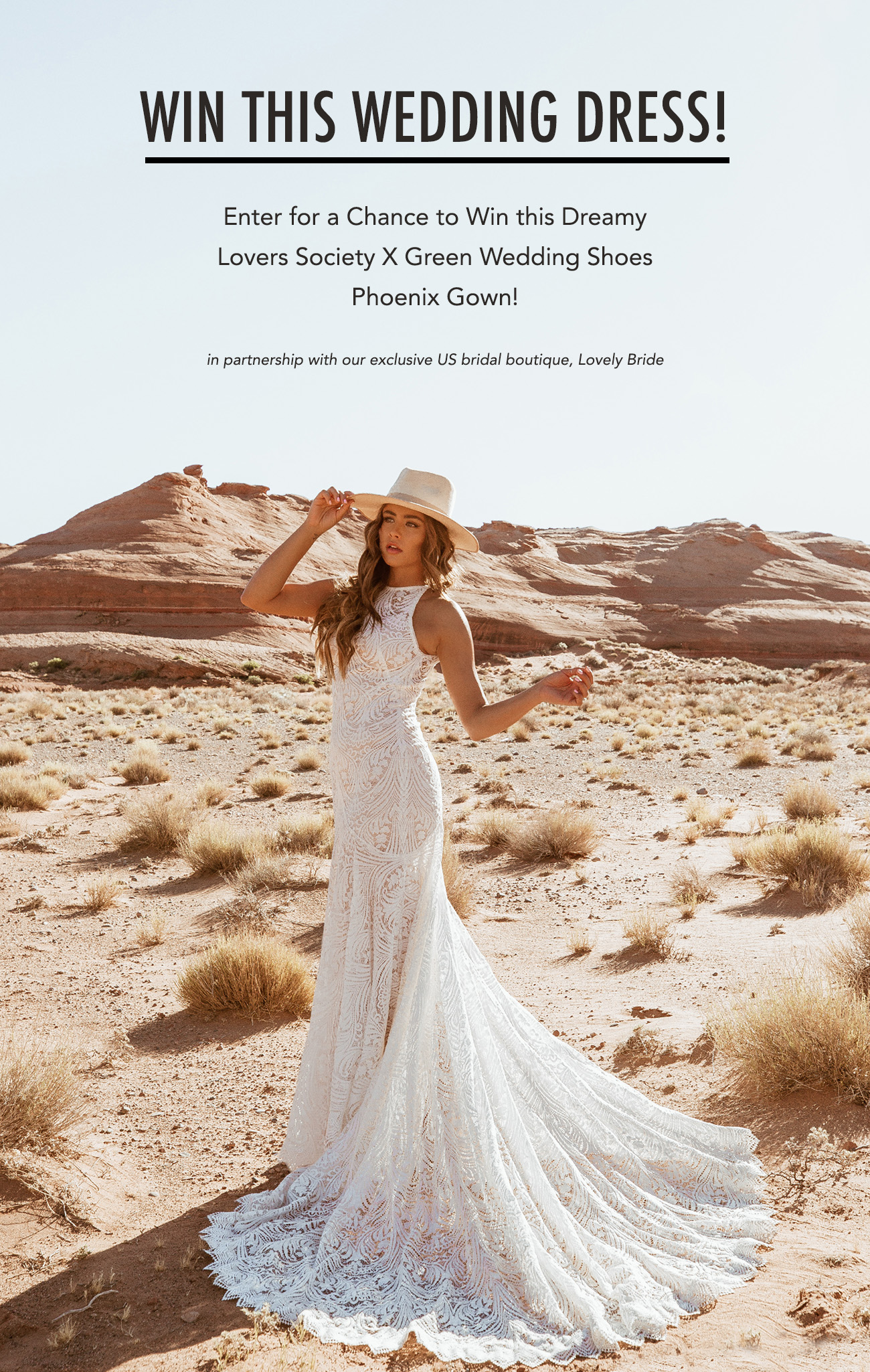 Win this wedding dress from Lovers Society x Green Wedding Shoes!