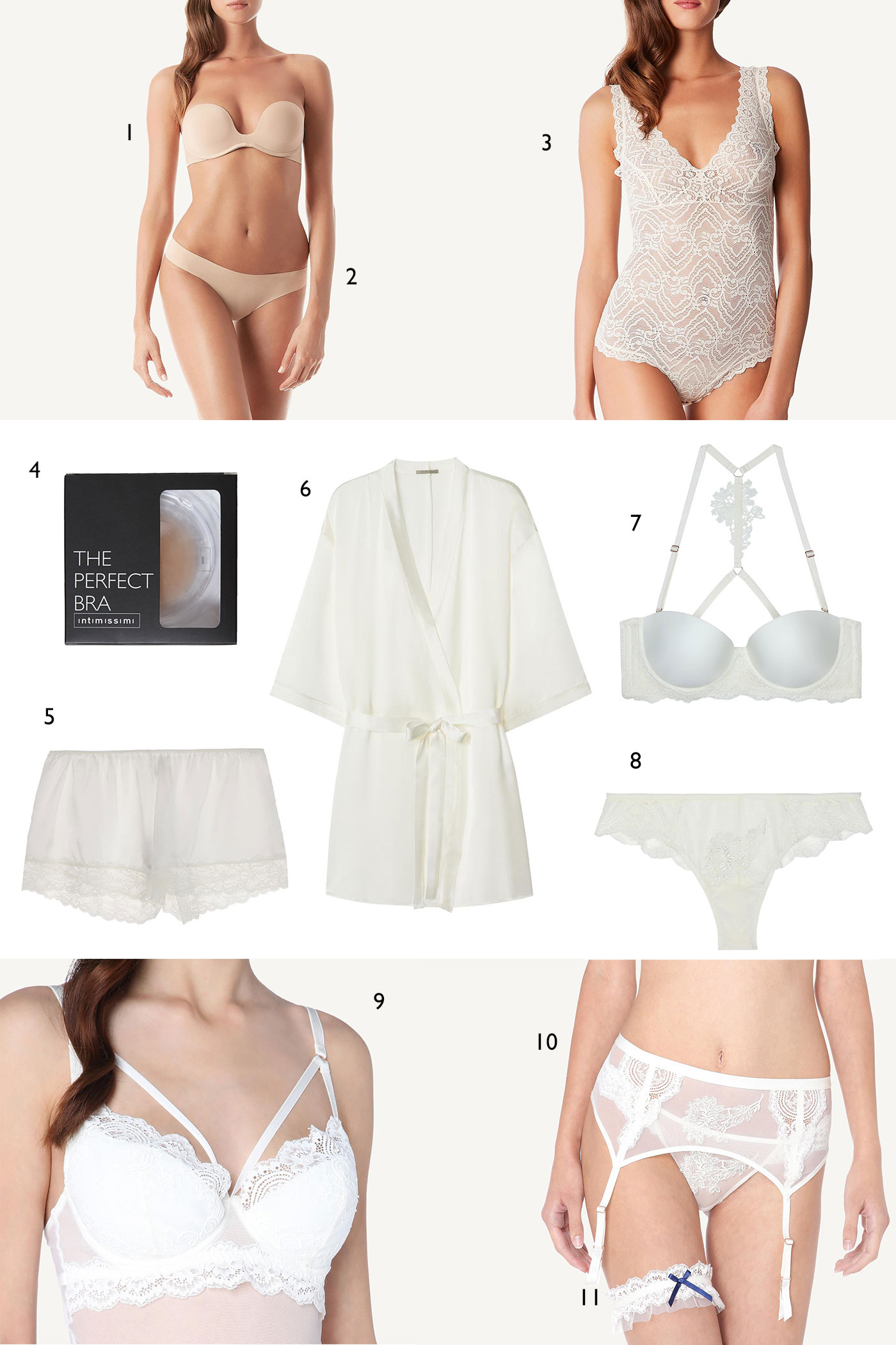 Bridal Lingerie for the Wedding Day