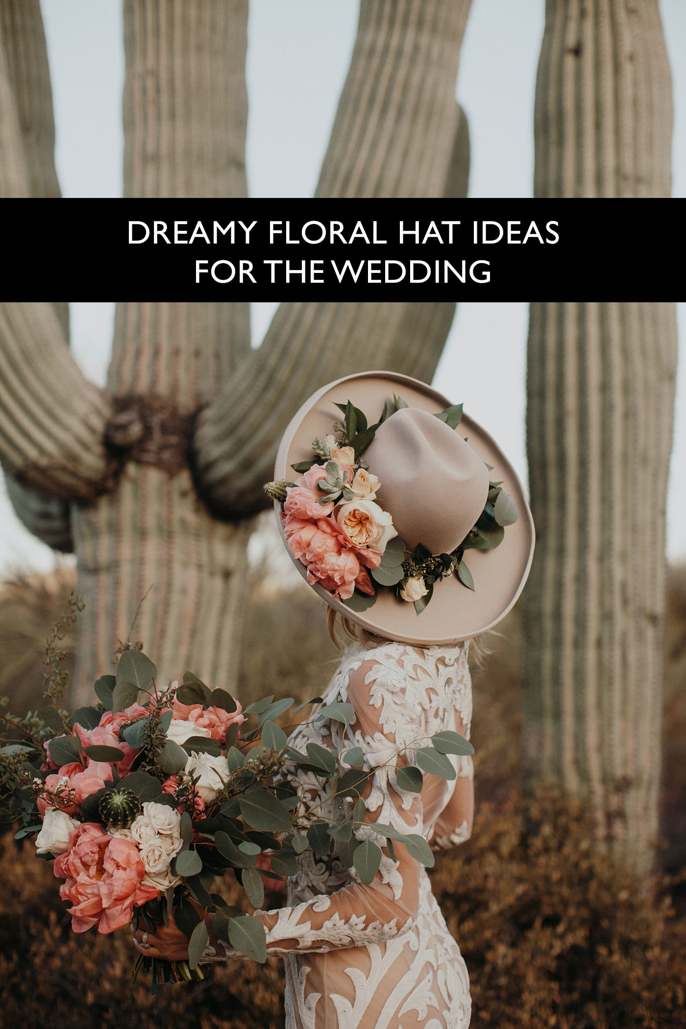 floral hat ideas for the wedding