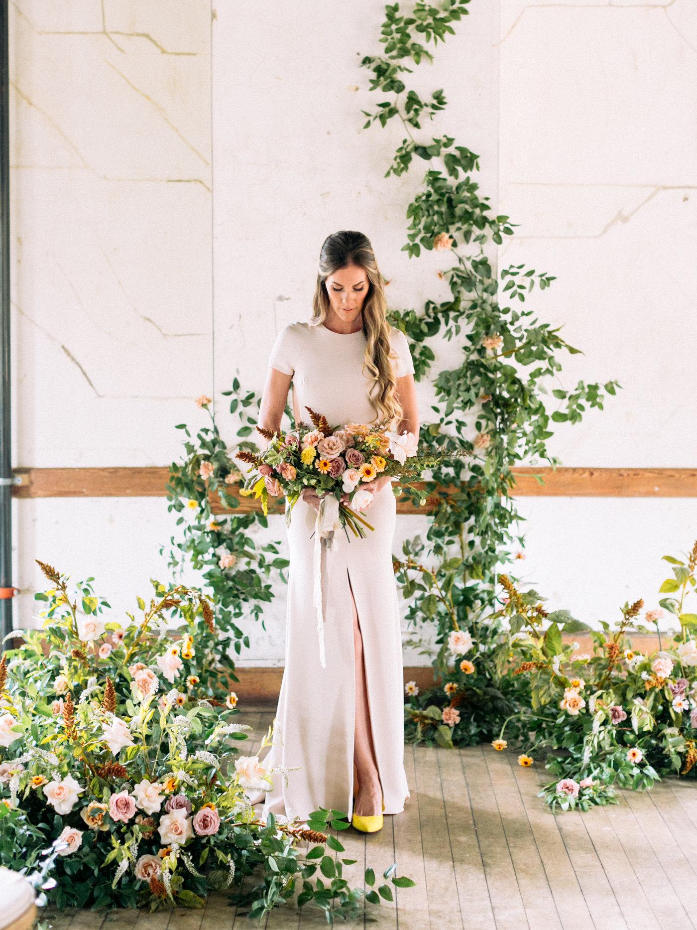 Kir dress by Sarah Seven