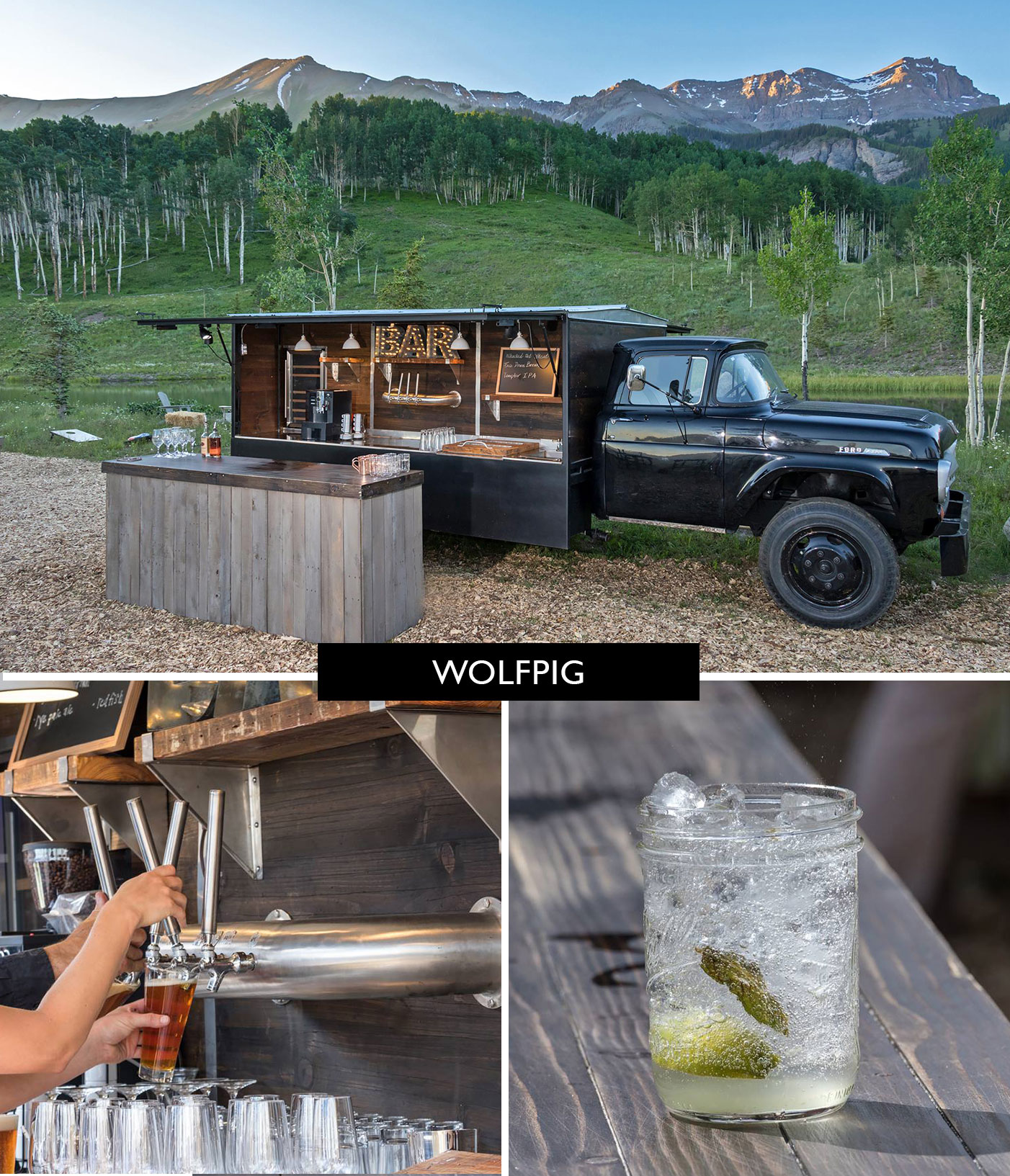 WolfPig Mobile Bar