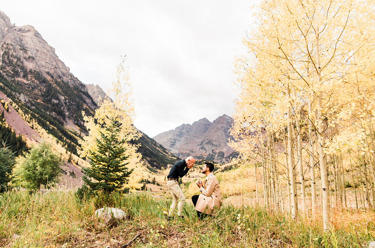 A Surprise Proposal in the Hills of Aspen, Colorado!