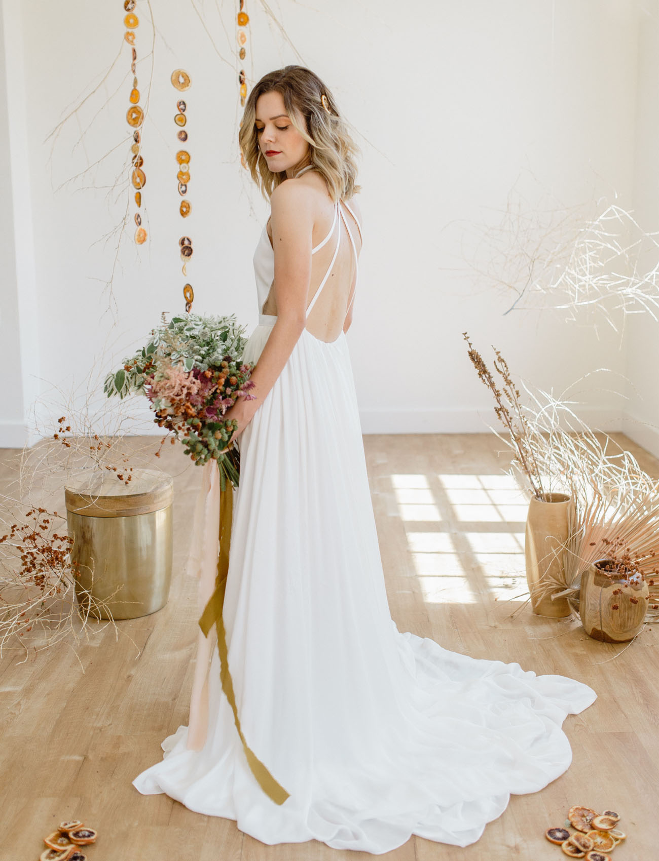 Deconstructed Citrus Wedding Inspiration