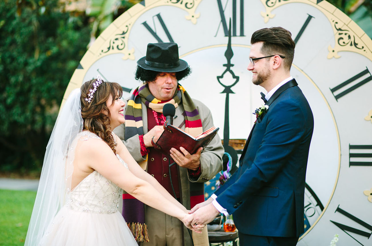Doctor Who Real Wedding