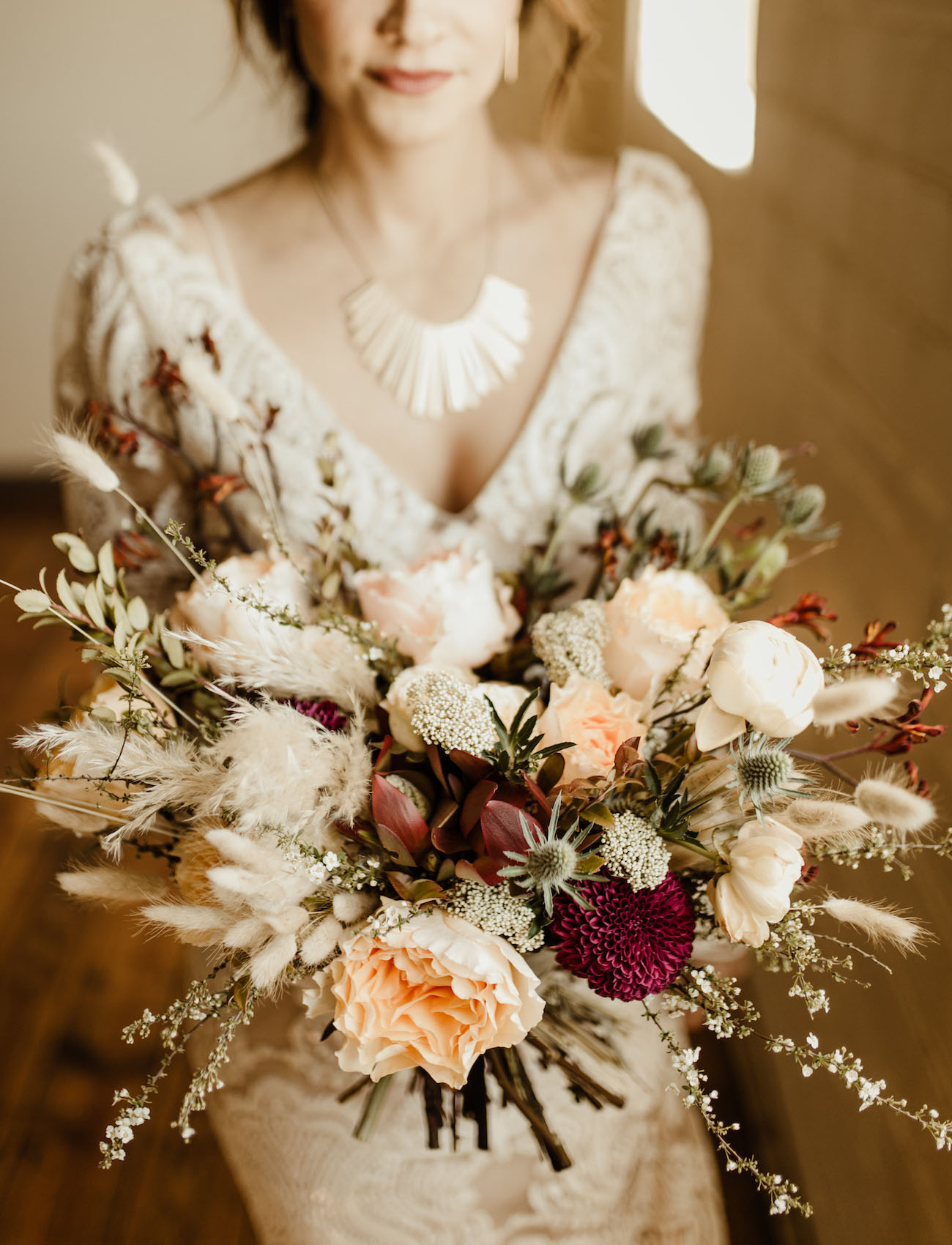 boho willow bouquet