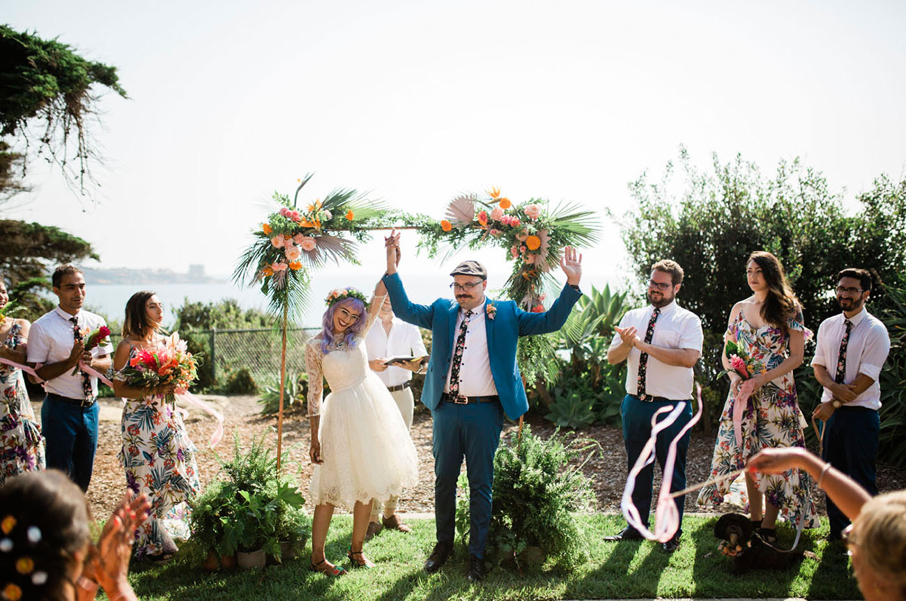 Elevated Tiki Wedding