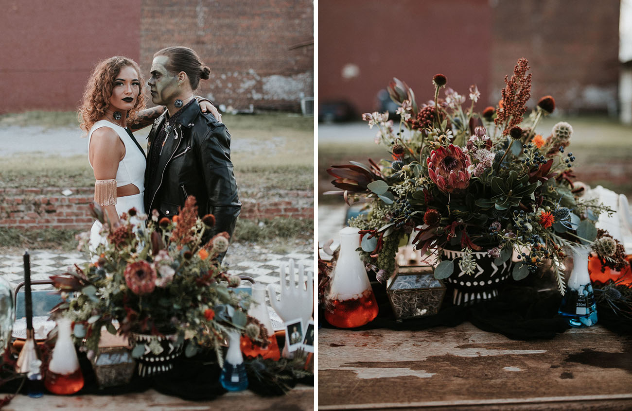 Frankenstein Wedding Inspiration