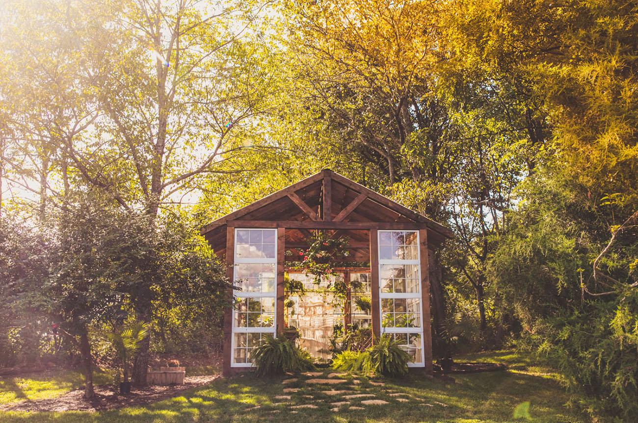 Greenhouse Styled Wedding