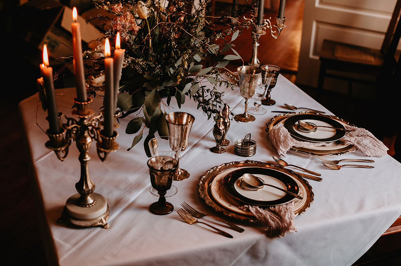 Haunted Styled Deadwood Elopement