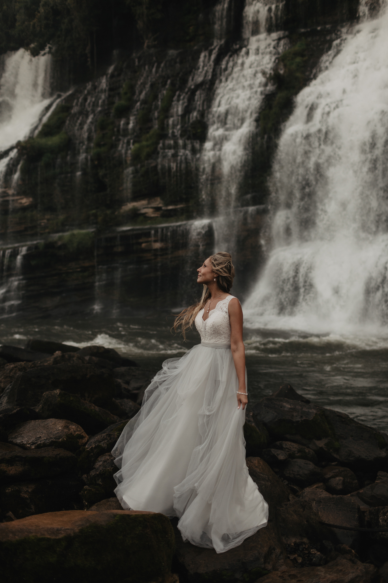 Rock Island State Park Elopement photo by Magnolia + Ember