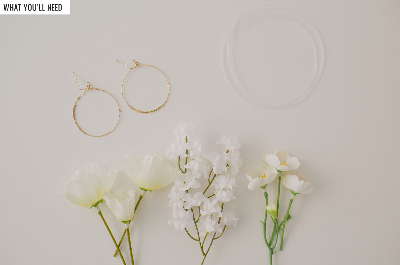 DIY Floral Earrings