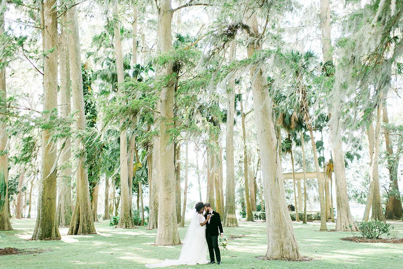 Modern Orlando Florida Wedding