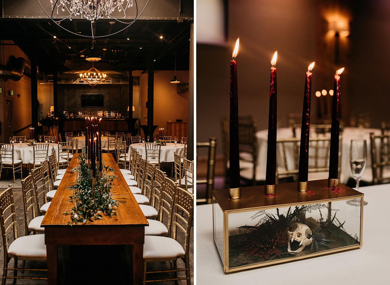 Skull Inspired Milwaukee Wedding