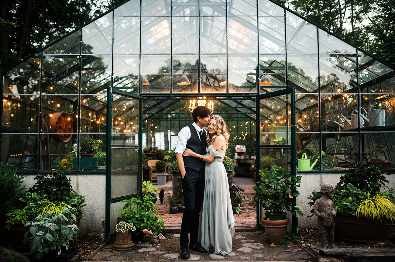 The Coolest Greenhouses To Get Married At In The United