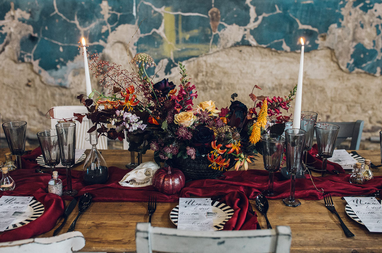 Nightmare Before Christmas Wedding Inspiration