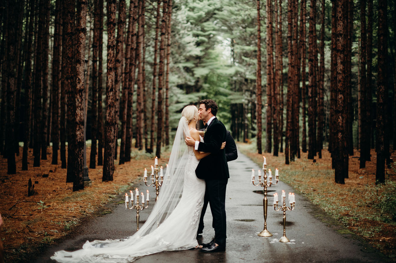 Intimate Torch Lake Wedding