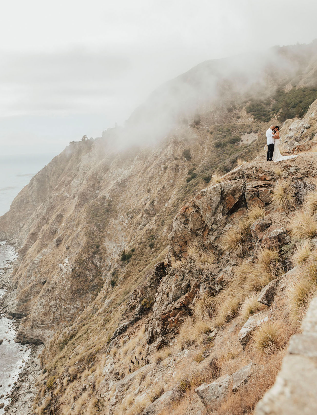 Boho Big Sur Intimate Wedding