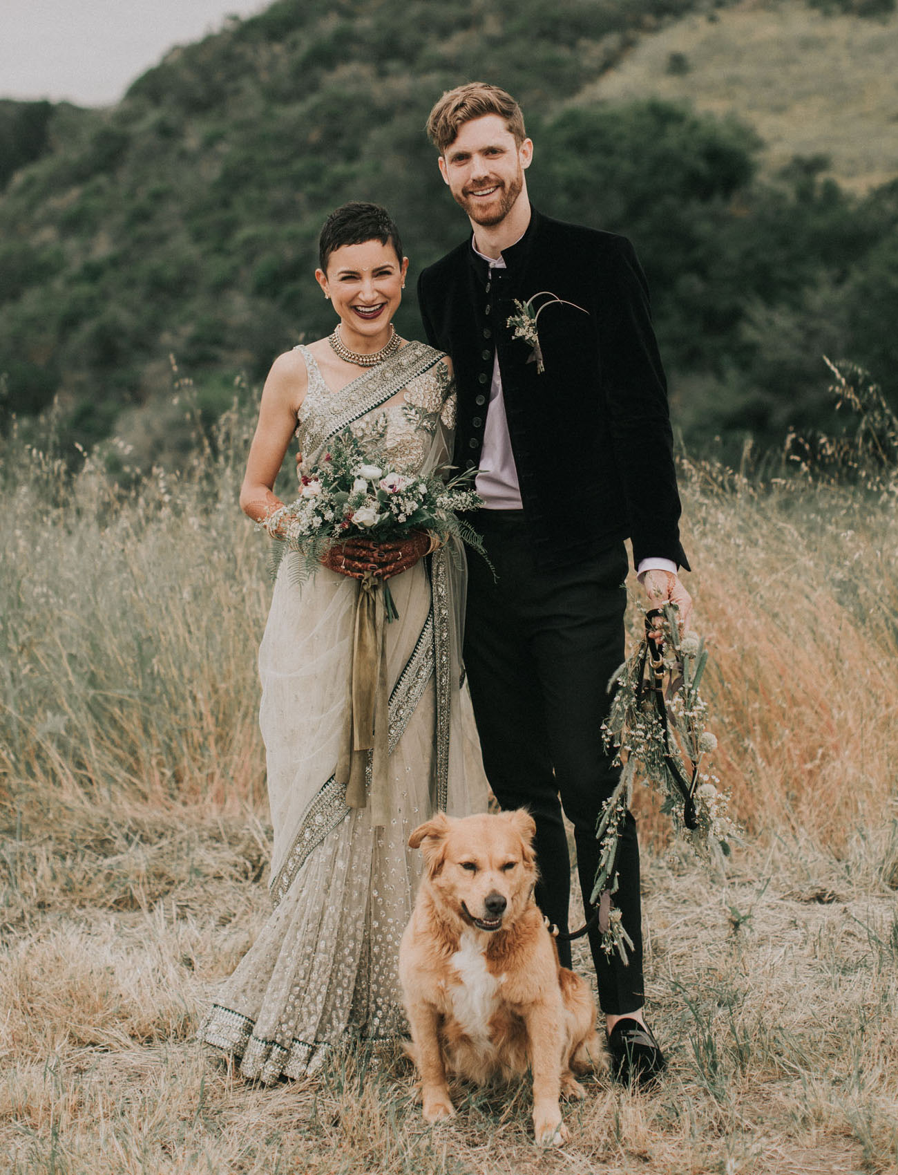 Multicultural Glamping Wedding