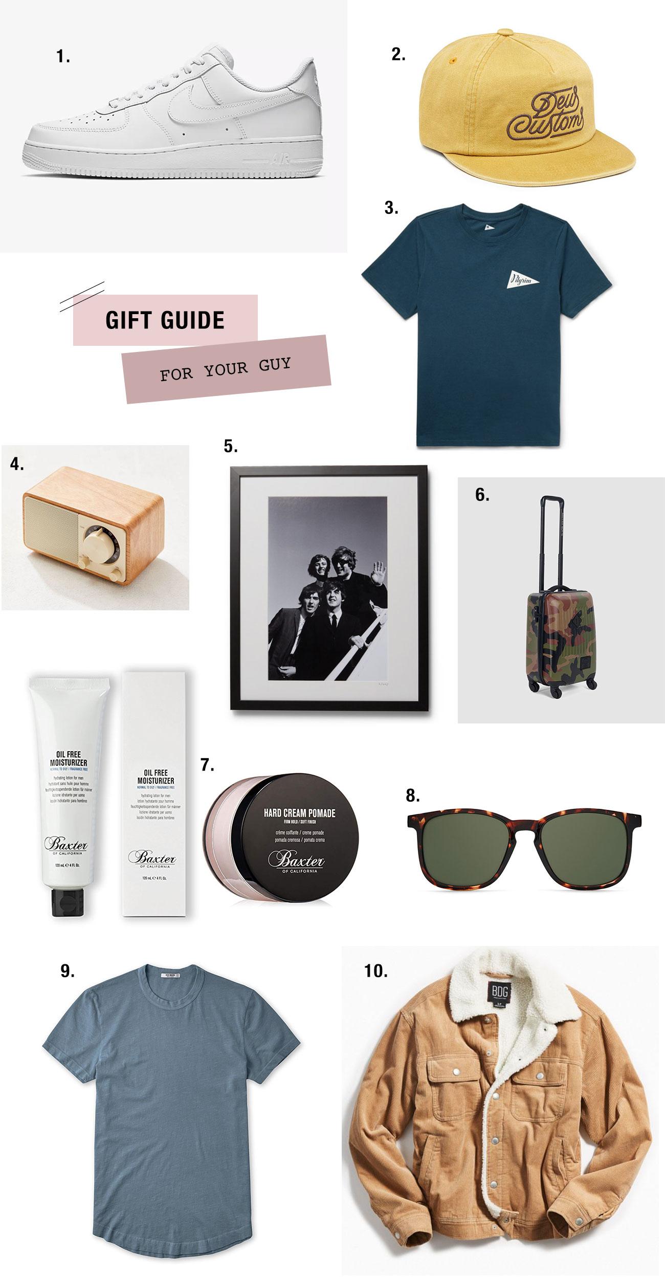 2018 Gift Guide for Guys