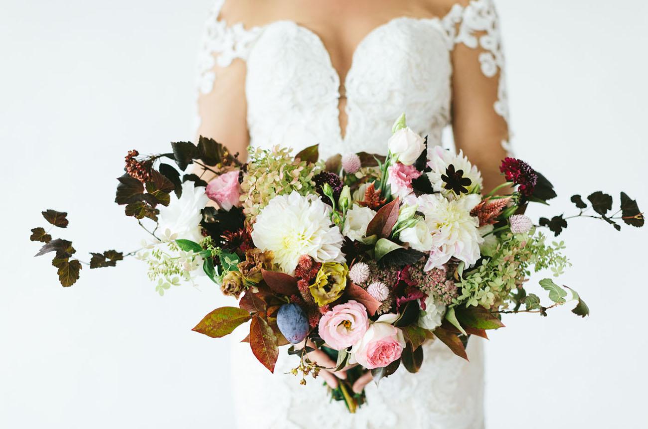 fall ranunculus bouquet