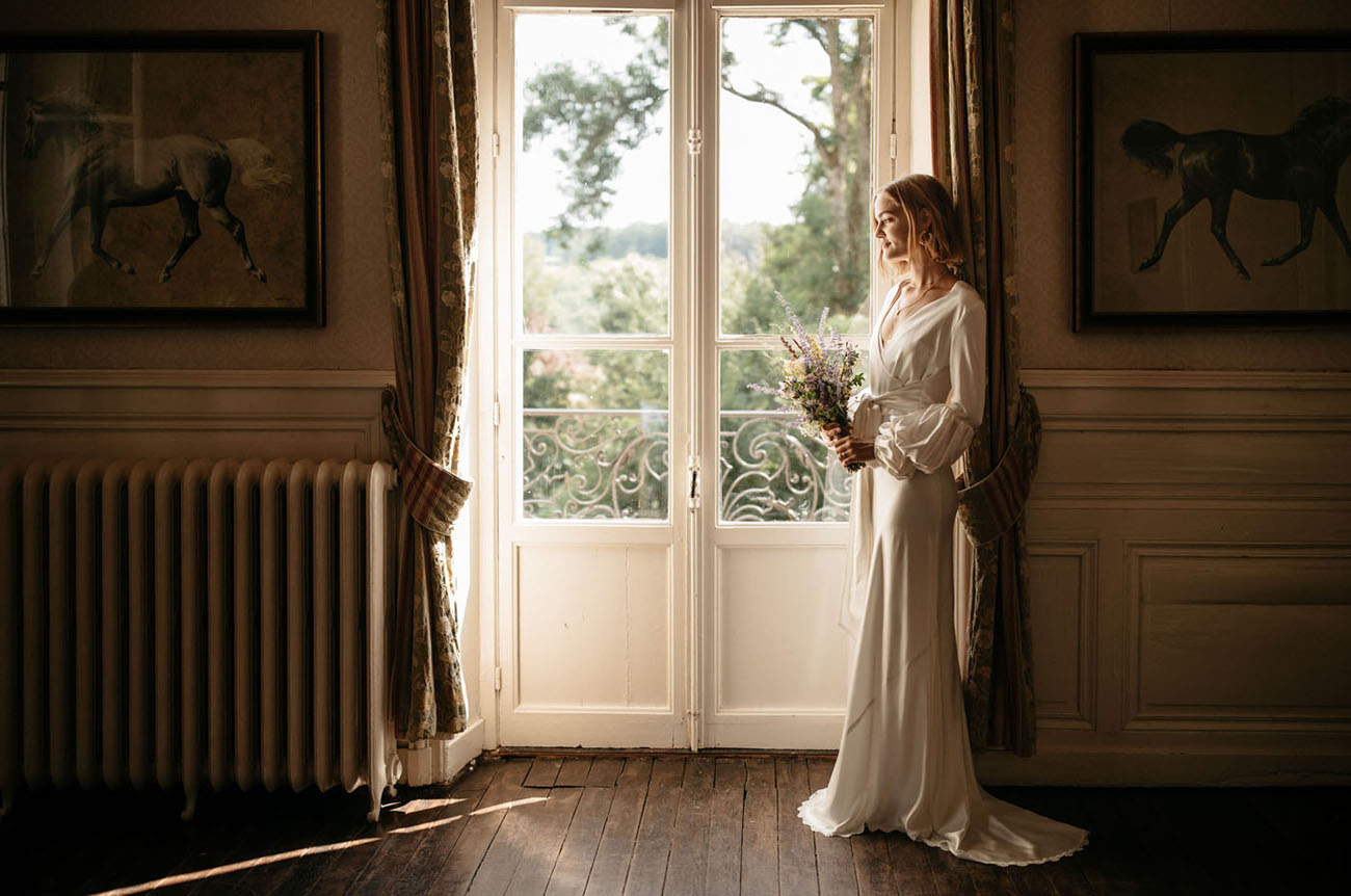 Burgundy France Castle Wedding