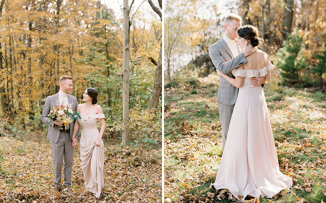 Colorful Fall Wedding Inspiration