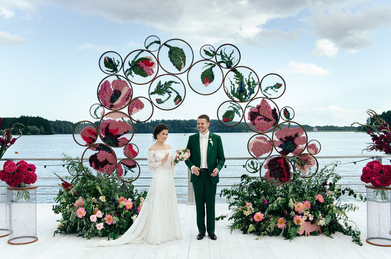 Embroidery Art Moscow Wedding