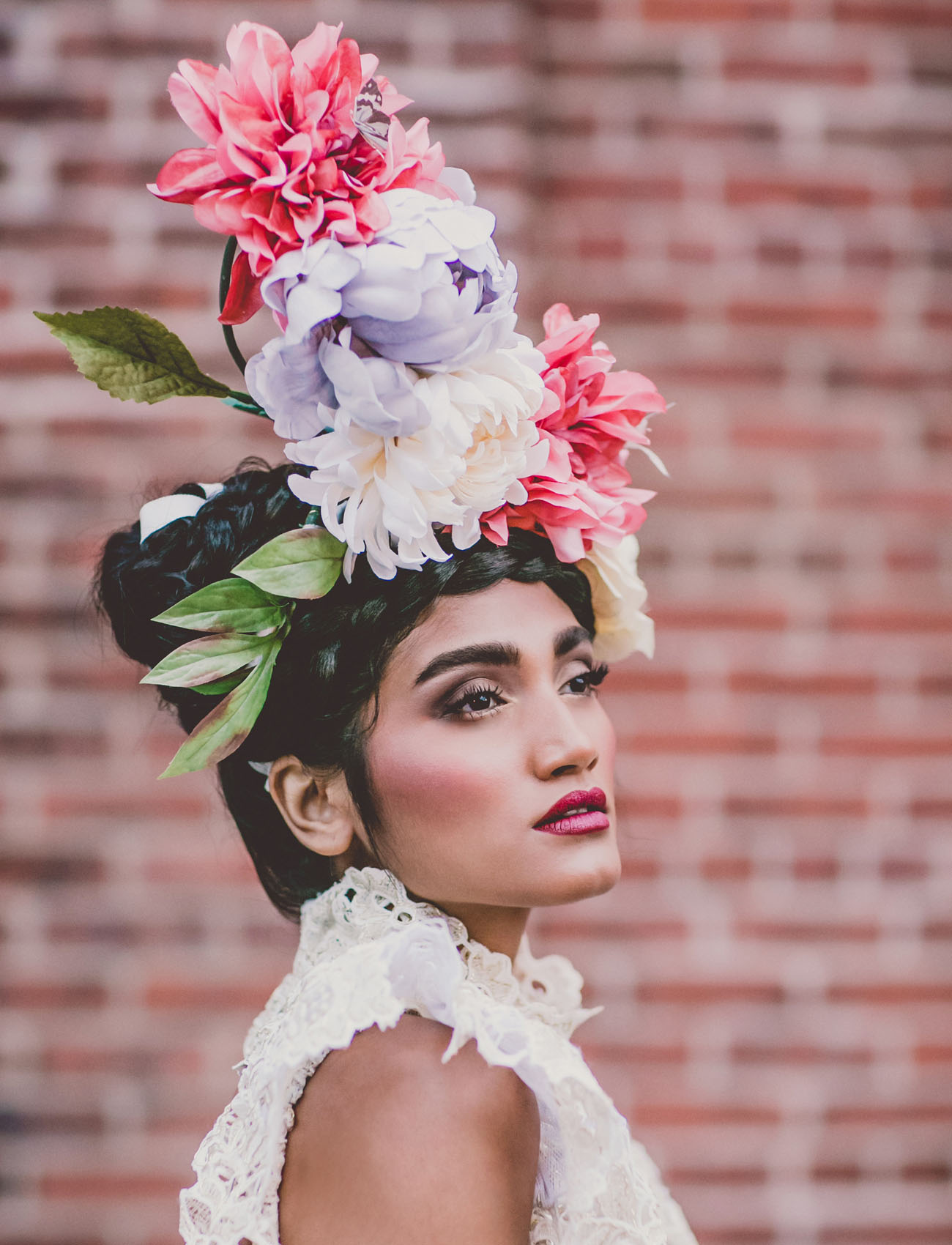 Old World Surrealism Frida Inspired Wedding