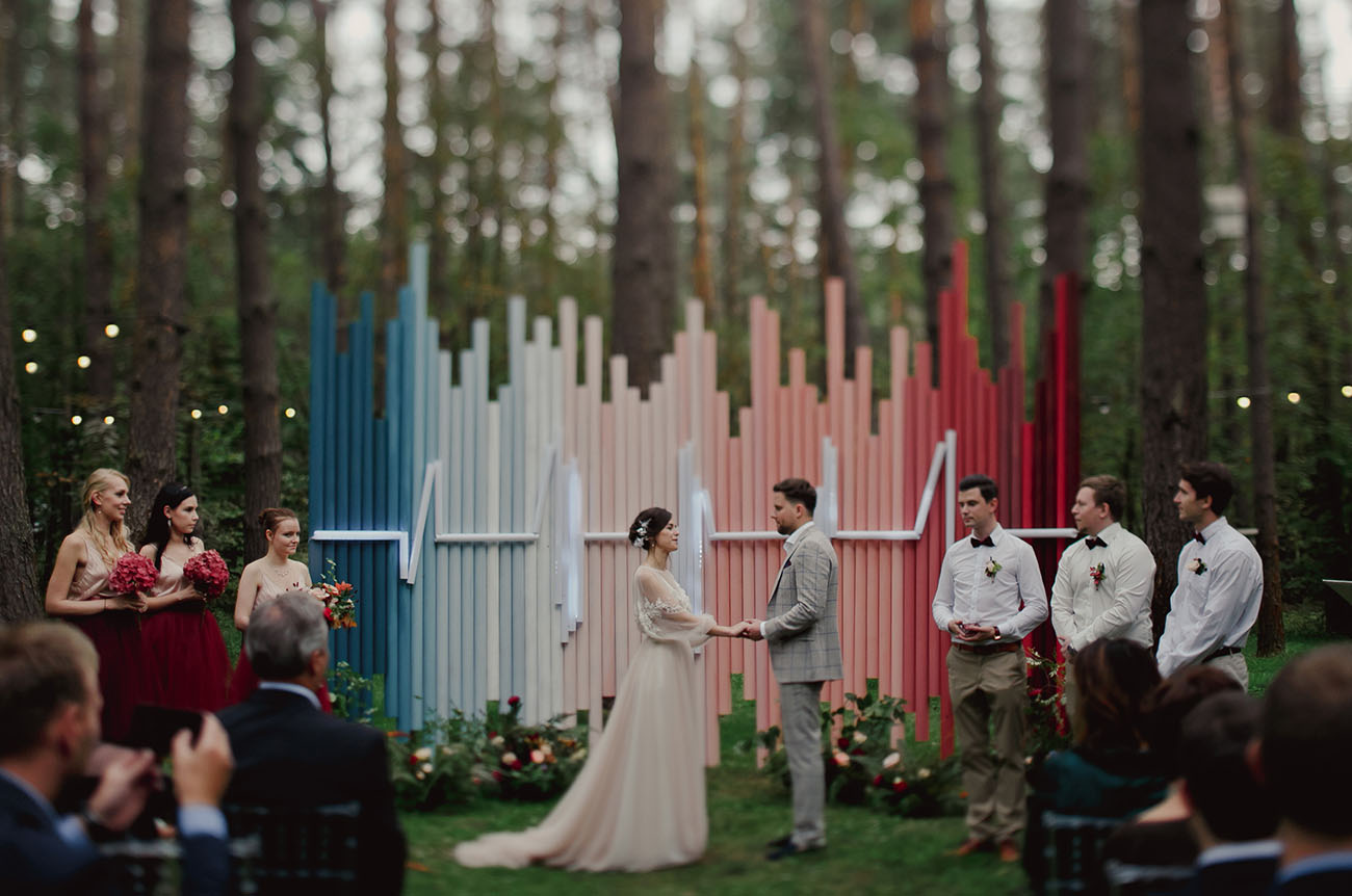Russian Heart Beat Wedding