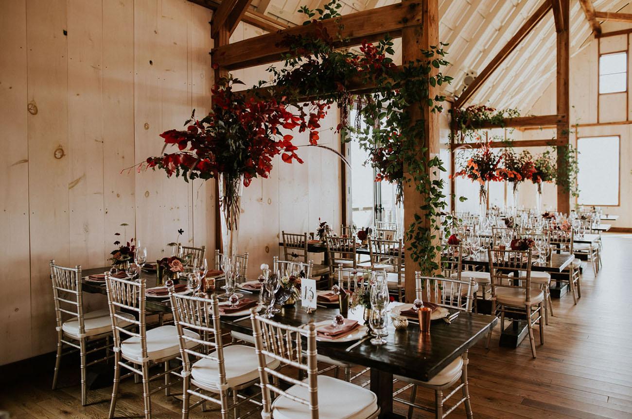 Modern Autumn Wedding