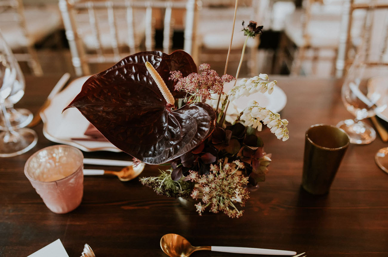Modern Autumn Wedding