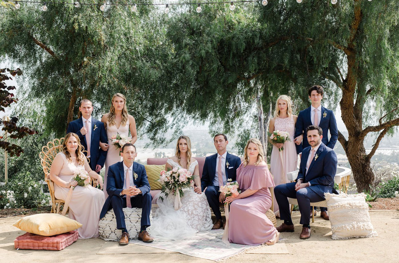odern Bohemian Ranch Wedding