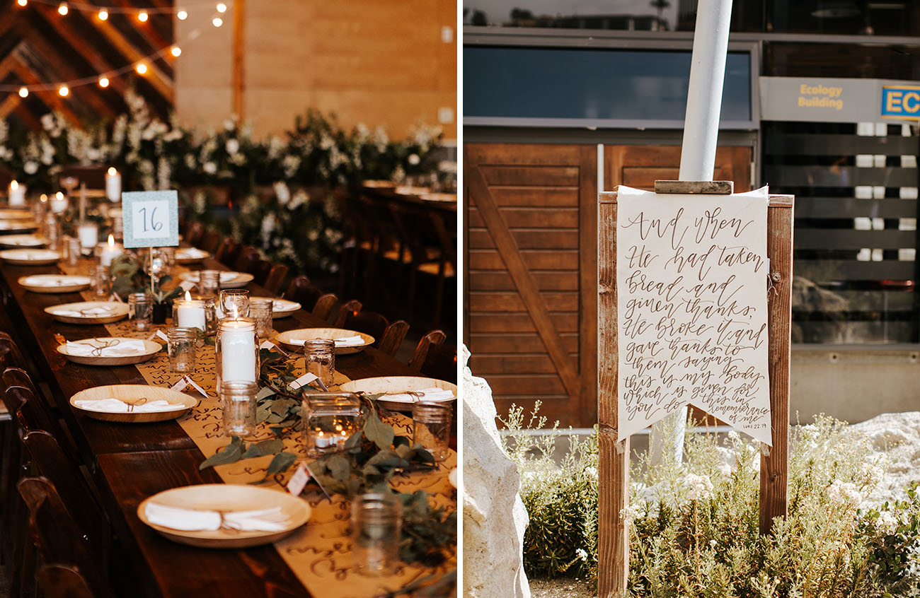 Rustic Orange County Wedding