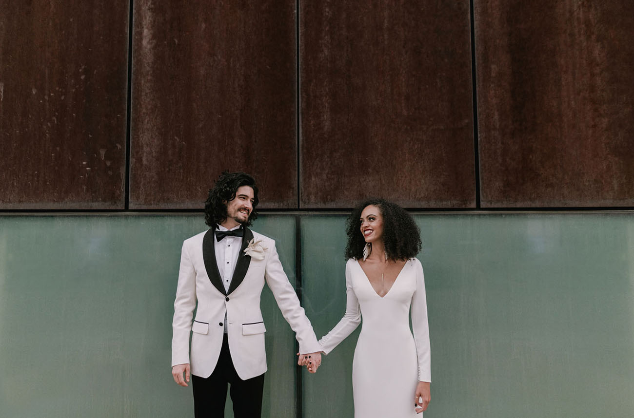 Modern Monochrome Wedding Inspiration