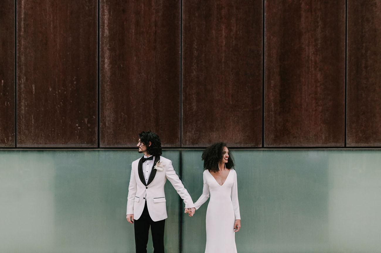 Modern Monochrome Wedding Inspiration