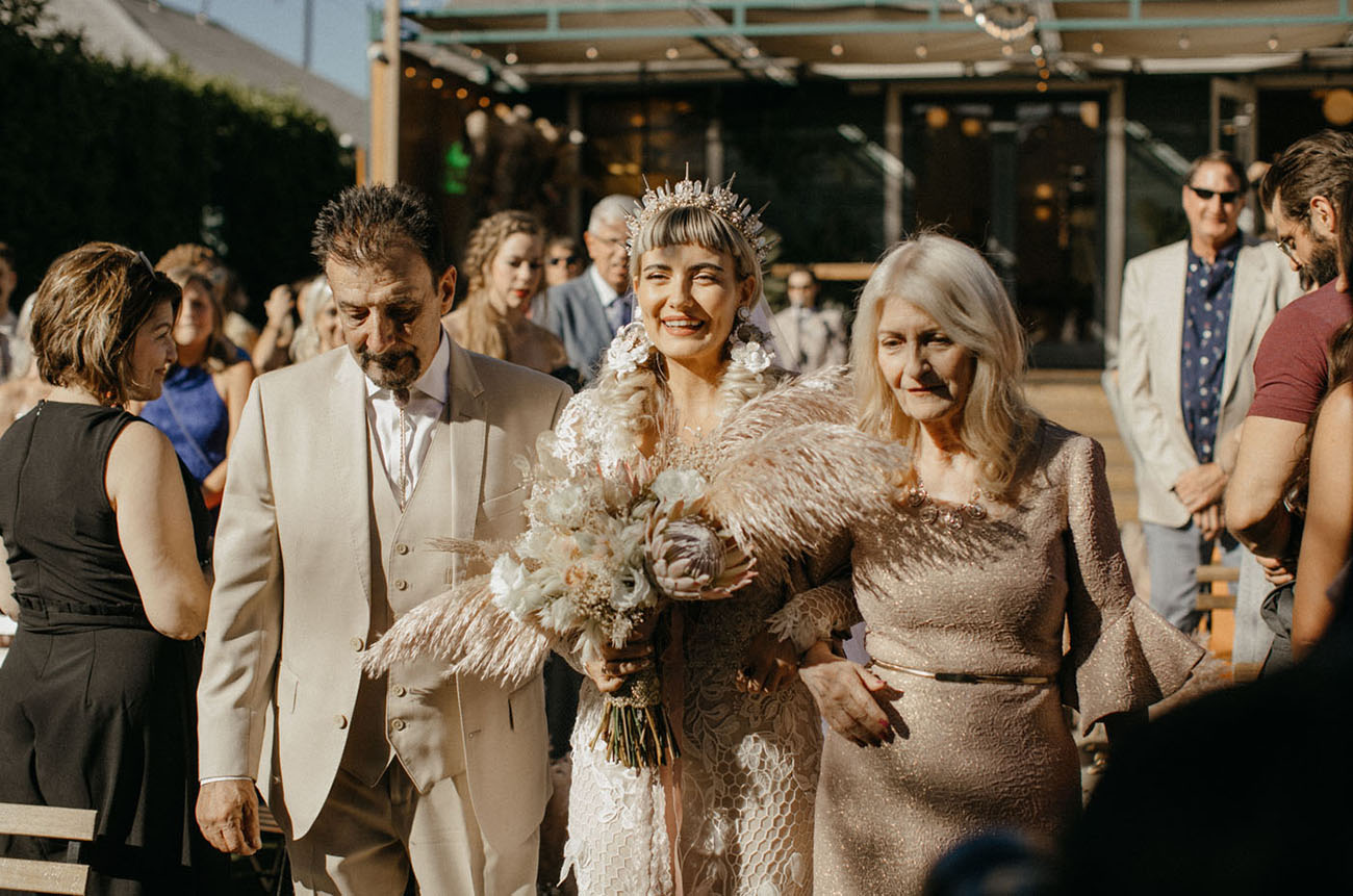 Victorian Inspired Ruby Street Wedding
