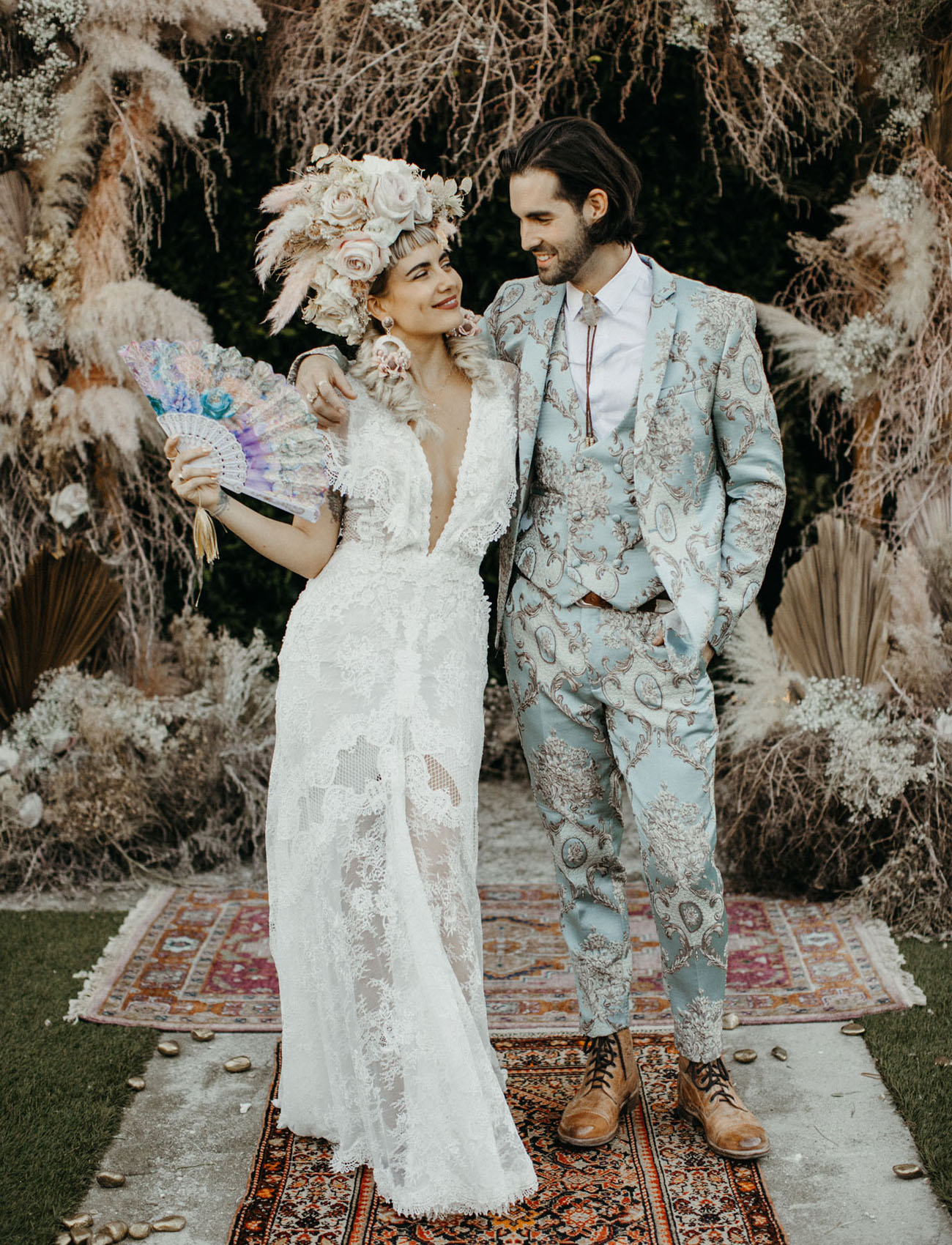Mad Maven Style?s Marie Antoinette Meets Southwestern-Inspired Wedding ? Part 2