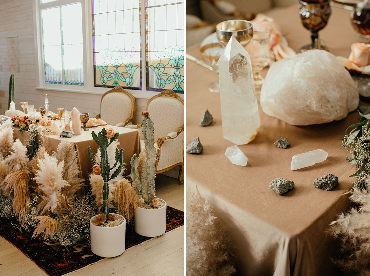 Victorian Inspired Los Angeles Wedding