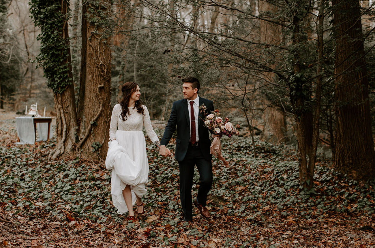 Romantic Fall Wedding Inspiration