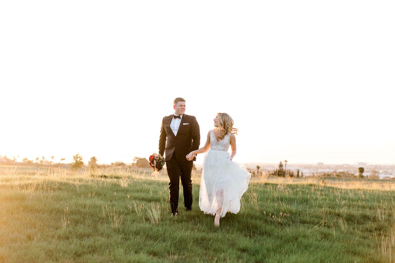 Romantic Palos Verdes Wedding