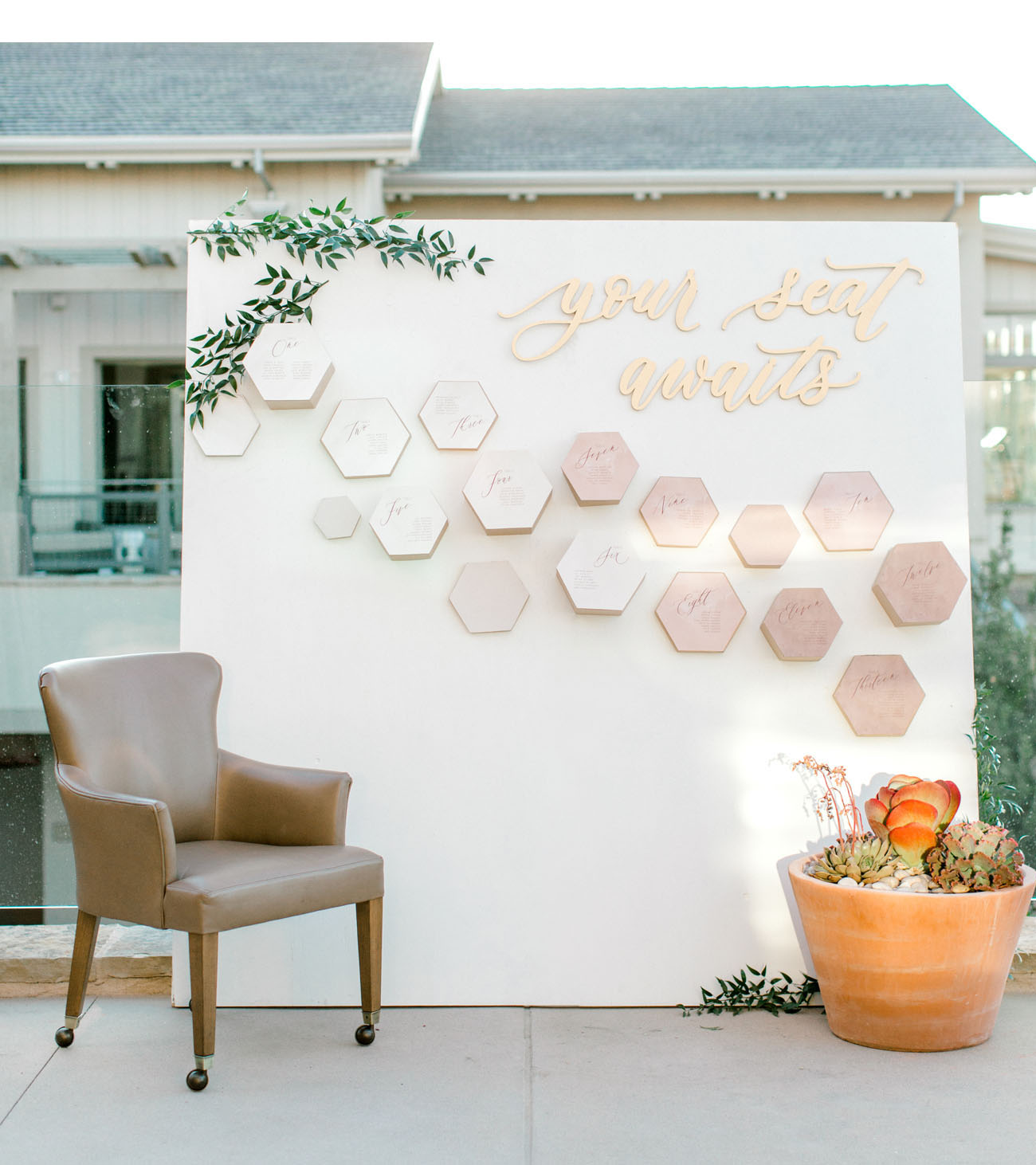 honeycomb seating chart